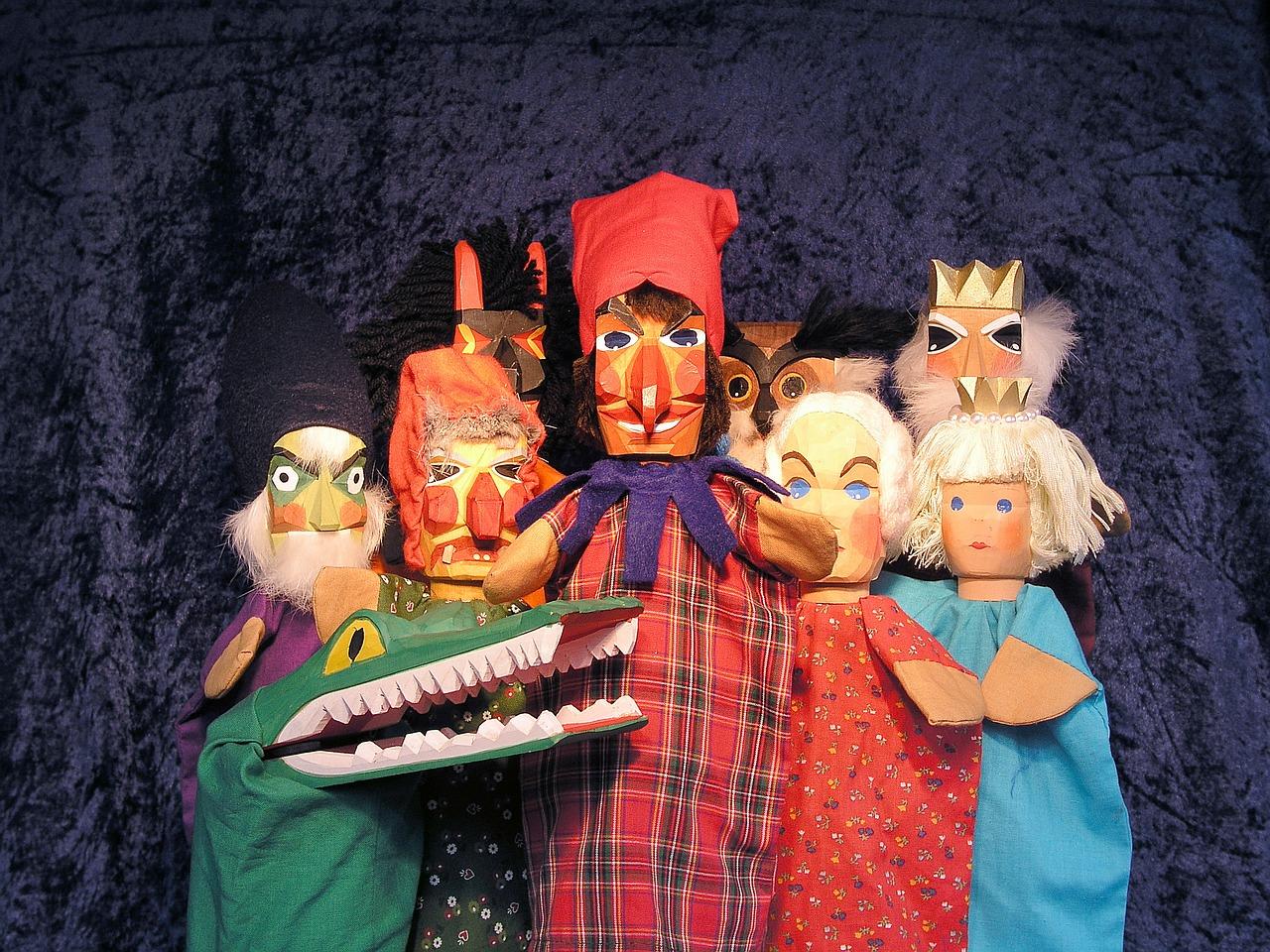 Das Theater lässt die Puppen tanzen