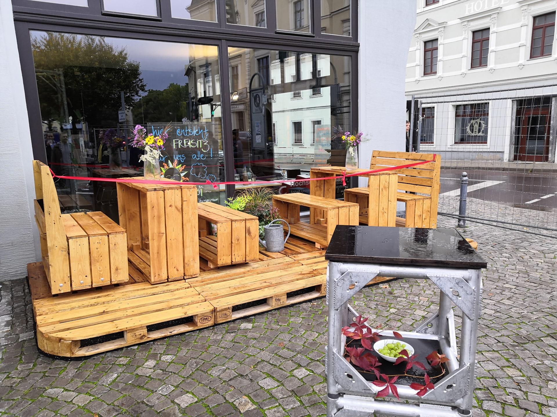 Der Bernburger Coworking Space eröffnet Freisitz