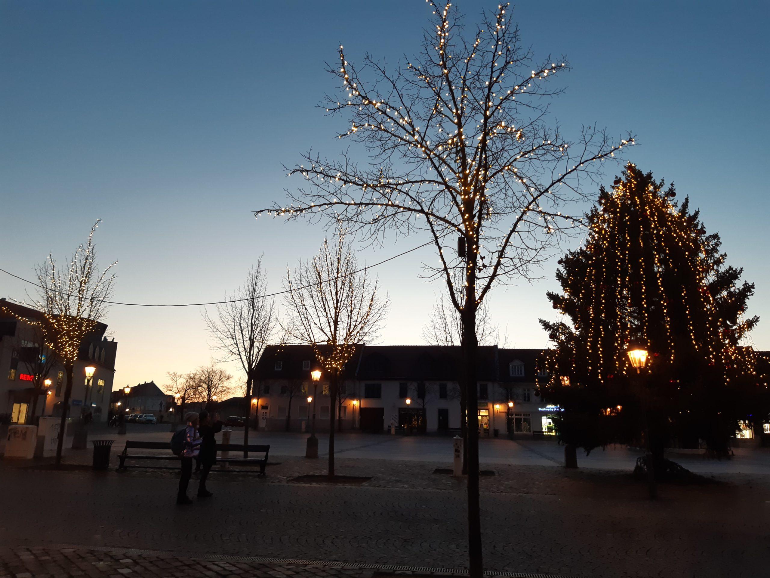 Weihnachtsstimmung in Bernburg
