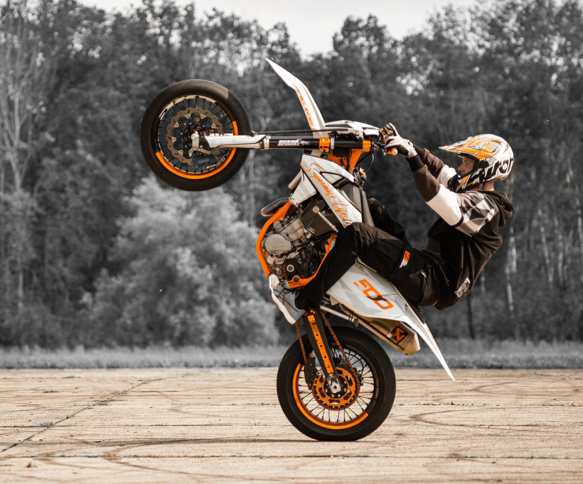 Stuntfahrer aus Bernburg bei der German Stuntweek