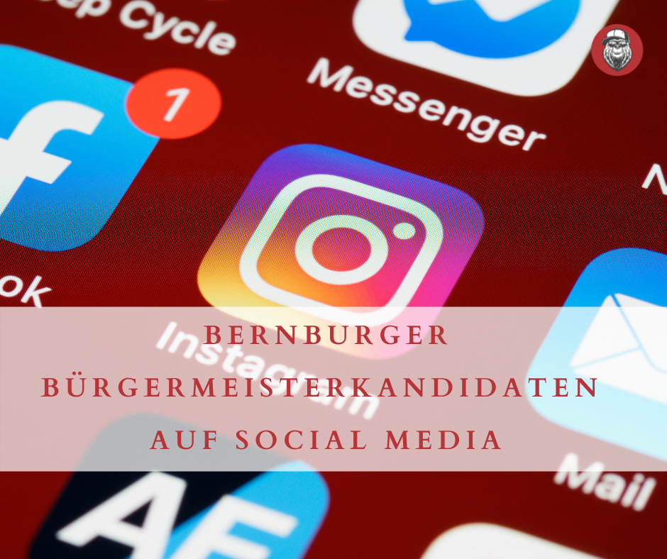 Bernburger Bürgermeisterkandidaten auf Social Media