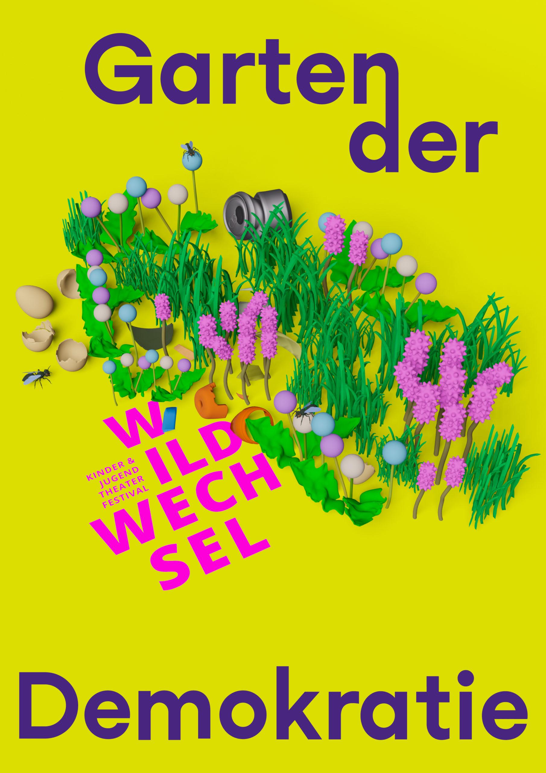 Wildwechsel Festival – Garten der Demokratie